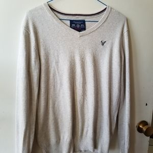 American Eagle Cream Sweater